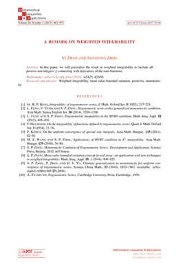 First abstract page